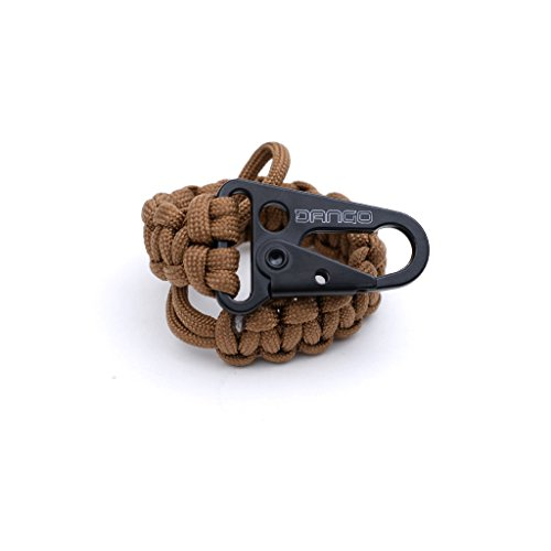 Dango EDC Tether - Cobra Weave 550 Paracord - 6 Inch Woven, 10 Feet Unraveled (Sand) by Dango Products (Image #8)