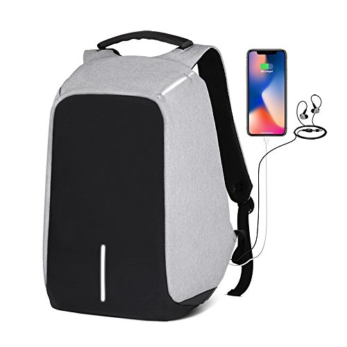 Day Bagpack/School Backpack/Travel Backpack/Anti Theft School Backpack/College Backpack/Business Backpack With USB Charging Port Suitable for Under 15.6-inch Laptop Backpack Mens/Womens by LCLFF (Image #10)'