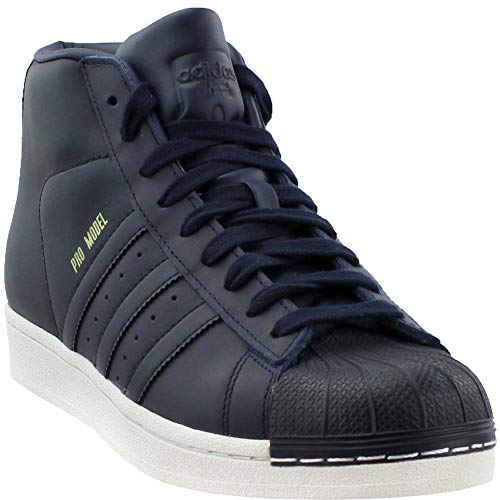 adidas Mens Pro Model Casual Athletic & Sneakers Navy