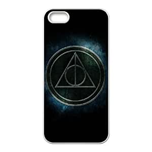 Deathly Hallows iPhone 4 4s Cell Phone Case White yyfabc_955533