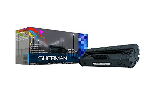 - Sherman Ink ® Compatible HP 92A C4092A Toner Cartridge Replacement For Printer laserJet 1100, 1100A, 1100se, 1100Ase, 1100Axi, 1100xi, 3200, 3200MFP,3200m, 3200se