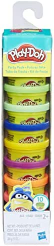 Play-Doh Party Pack 10 1oz Cans of Assorted Color