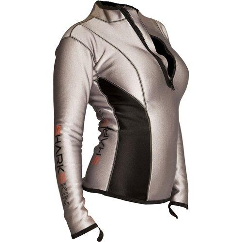 Sharkskin Women's Chillproof Climate Control Long Sleeve Shirt, Size 14
