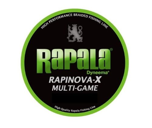 Rapala(ラパラ) PEライン ラピノヴァX マルチゲーム 200m 3.0号 39.6lb ライムグリーン RLX200M30LGの商品画像