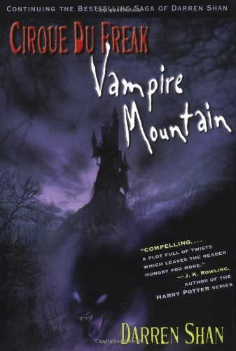 Vampire Mountain (Cirque du Freak, Book 4)