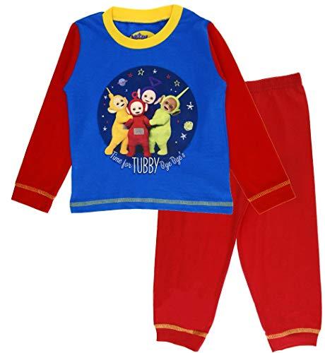 Boys Teletubbies Long Pyjamas 3-4 Months Blue ()