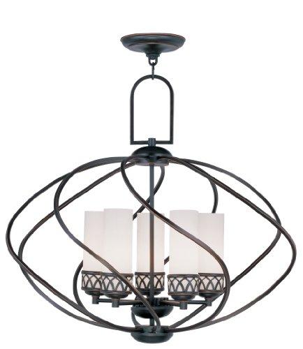Livex Lighting 4725-67 Westfield 5-Light Chandelier, Olde Bronze