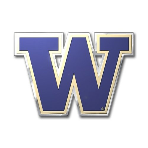 (Team ProMark NCAA Washington Huskies Die Cut Color Auto Emblem)