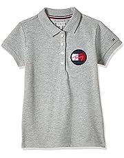 Tommy Hilfiger Girl's Essential Short Sleeves Shirt