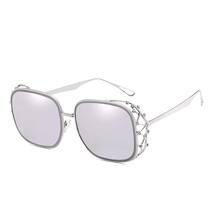 Amazon.com: DSGER&SGLS Square Oversized Sunglasses Women ...