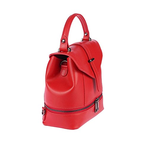 OBC Only-Beautiful-Couture, Borsa a zainetto donna bianco bianco ca.: 22x23x12 cm (BxHxT) Rot