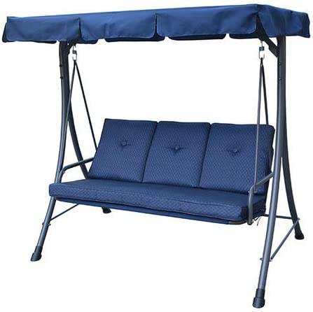 Garden Winds Blue RUS415H Swing Replacement Canopy Top Cover