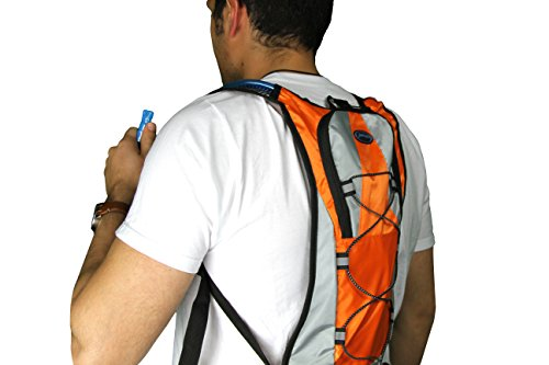 7e5f279ea73f Zaidogear Hydration Pack with 2L Backpack BPA Free Water Bladder, Fits Men,  Women, Youth and Kids, Used for Hiking, Running, Cycling, and Skiing - ...