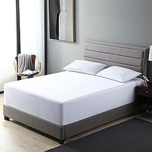 Amazon.com: EXQ Home Protector de colchón 100% impermeable ...