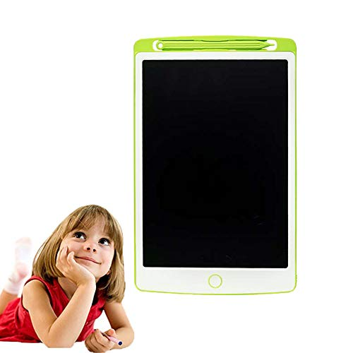 8.5 Inch Green LCD Tablet | Children's Drawing Learning Electronic Blackboard | Message Draft Office Writing -