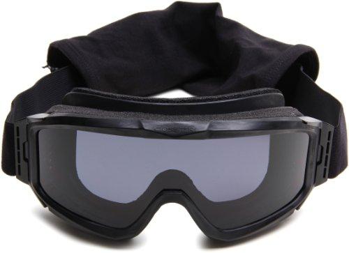 Bobster Alpha Ballistics Goggles, Black Frame/Smoke & Clear Lenses by Bobster Eyewear (Image #2)