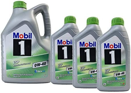Mobil 1 Aceite Lubricante Motor ESP X3 0W-40 dexos 2, Pack 8 ...