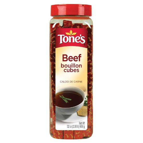 Beef Bouillon (Tone's Bouillon Cubes, Beef, 32 Ounce)