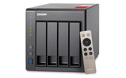 Servidor de Dados nas Intel Celeron Quad-Core 2 0Ghz 2Gb Ddr3L - 4 Baias sem Disco - Ts-451+-2G Qnap, qnap, TS-451