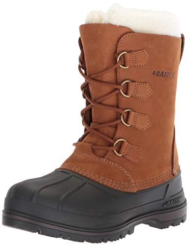 s Canada Snow Boot, Brown, 6 Medium US ()