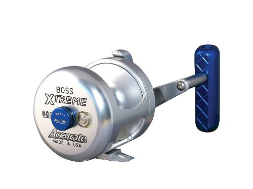 Accurate BX2-600 Series II Boss Extreme 2-Speed Conventional Reel