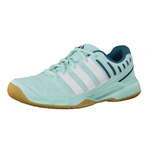 adidas Damen Handballschuhe essence 11 47 1/3 frost mint f14/core white/power...