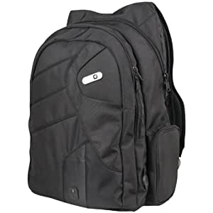 Powerbag Back Pack with Battery for Charging Smartphones, Tablets and eReaders, Black (RFAP-0123F)