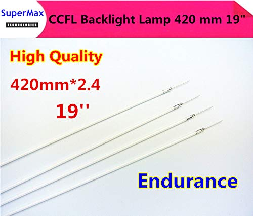 ShineBear New for 2.4419mm 2.4420mm CCFL Tube Cold Cathode Fluorescent Lamps 420 mm 19