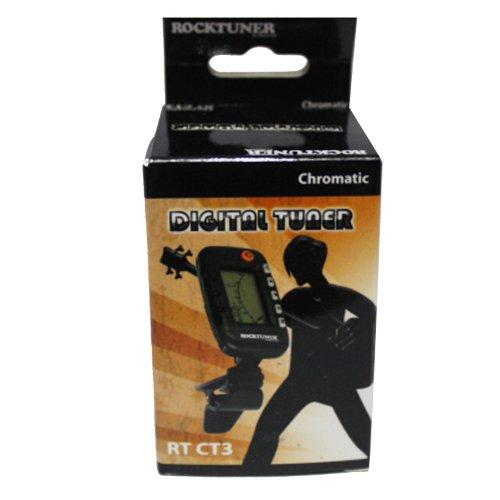 RockTuner CT3 Chromatisches Clip-On Stimmgerät mit Metronom