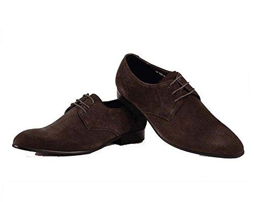 los Moda Solos Color Zapatos 39 de Hombres Trabajo los de Atmósfera de Respirable Zapatos de Tamaño la de Marrón xCRqSS4zw