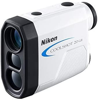 Nikon Coolshot 20 GII - Telemetro laser, colore bianco