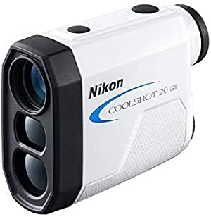 Nikon COOLSHOT 20 GII Golf Laser Rangefinder Ideal for Golf COOLSHOT 20 GII Golf Laser Rangefinder, White (BKA154YA)