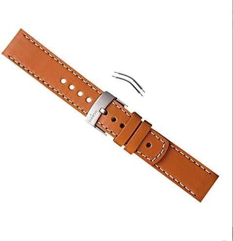 Suunto Elementum Ventus Brown Leather Strap Kit