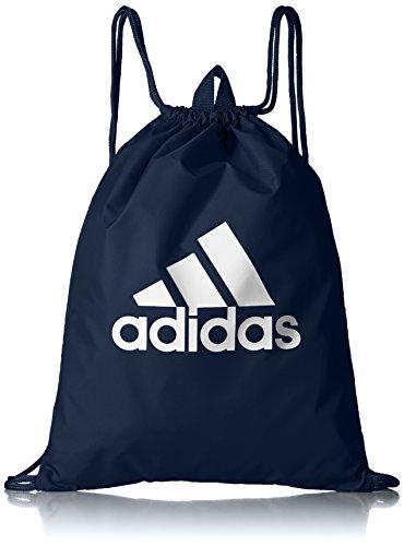 - Adidas Performance Logo Gym Bag (One Size, Collegiate Navy/Collegiate Navy/White)