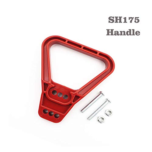 Gimax 175A 600V SH175 Red color SB175 Plug Connector Double Pole with copper Contact T handle Anti Dust Cover solar quickly connect - (Color: T Handle)