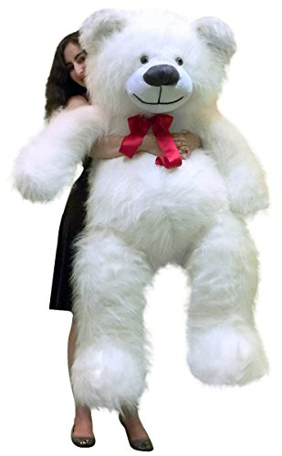 BigPlush Giant Teddy Bear White - 60 Inches (Large White Teddy Bear 5 Feet compare prices)