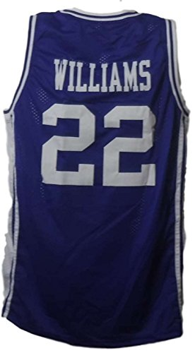 Jay Williams Unsigned Duke Blue Devils XL Blue Jersey 40009
