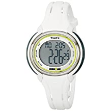 Timex Women's TW5K907009J Ironman Sleek 50 Digital Display Quartz White Watch