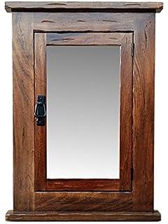 Primitive Mission Recessed Medicine Cabinet/Rustic/Solid Wood U0026 Handmade