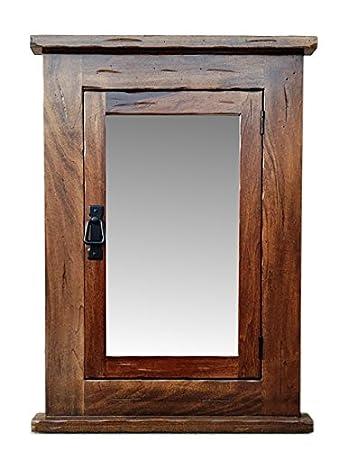 Delightful Primitive Mission Recessed Medicine Cabinet/Rustic/Solid Wood U0026 Handmade