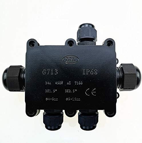 G713 IP68 Cinq voies Bo/îte de jonction /étanche for la protection Conseil Circuit connecteur electrique boite derivation etanche