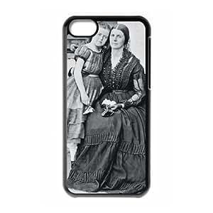 iPhone 5C Phone Case Funda Negro espía confederado Rose Greenhow E Hija K2G7VF caja del teléfono celular DIY Funda personalizada