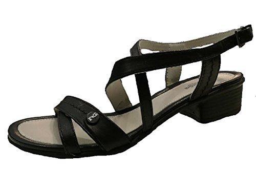 Nero Giardini - Sandalias de vestir de Piel para mujer Negro negro 38 negro