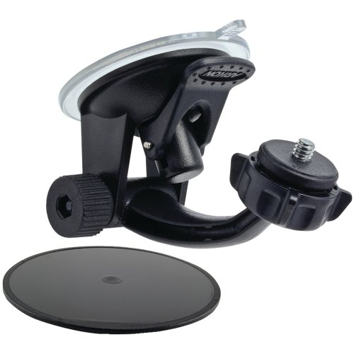 Arkon Windshield or Dash Camera Car Mount for Sony JVC and Other Digital Cameras