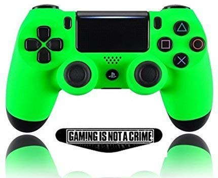 Soft Neon Custom PS4 PRO Rapid Fire Custom Modded Controller 40 Mods for All Major Shooter Games