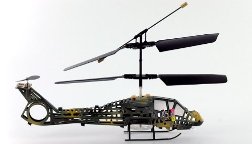 3 Channel Black Version Mini Indoor Comanche Helicopter w/ Flashing - Helicopter Rc Comanche