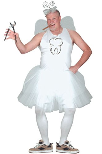 [8eighteen Storybook Funny Tooth Fairy Outfit Adult Costume] (Storybook Prince Adult Mens Costumes)