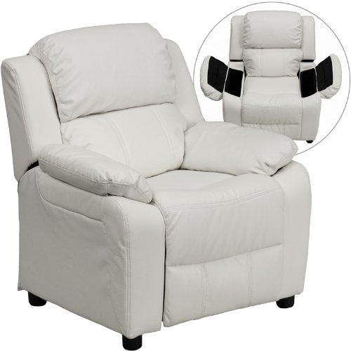 Zuffa Home Furniture White kids recliner
