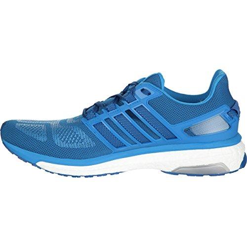 Adidas Ytelse Menns Energiøkning 3 M Løpesko Blå / Blå-hvit