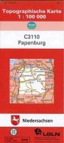 Papenburg 1 : 100 000 Landkarte – 1. Dezember 2011 Landesamt f.Geoinformatio 3941177230 Deutschland Landkarten und Atlanten